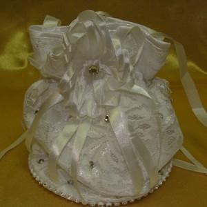 Гипюровая сумочка невесты 3