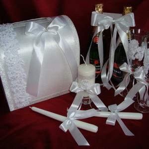 Свадебный комплект шантильи