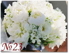 Пышный букет невесты 23