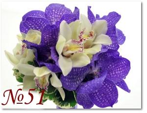 Букет невесты с орхидеями 51