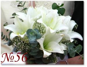 Букет невесты из лилий 56