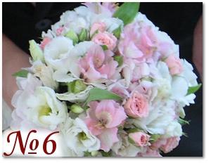 Нежный букет невесты 6