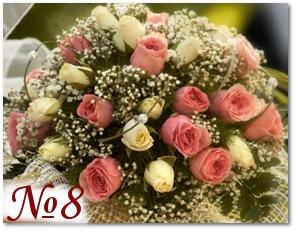 Букет невесты с розами 8
