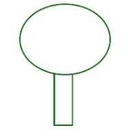 Букет в форме шара