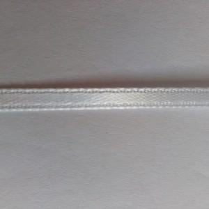 белая атласная лента 3мм
