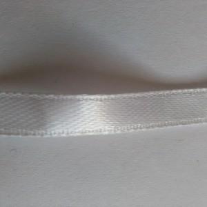 белая атласная лента 6м