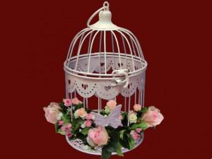 клетка декоративная для свадьбы
