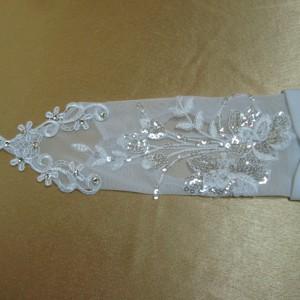 Перчатки для невесты с петлёй 1