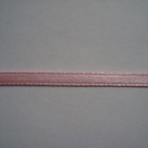Розовая атласная лента 3мм