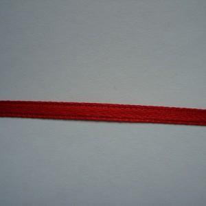 Красная атласная лента 3мм