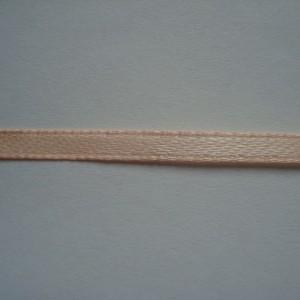 Персиковая атласная лента 3мм