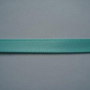 Светло-бирюзовая атласная лента 6мм