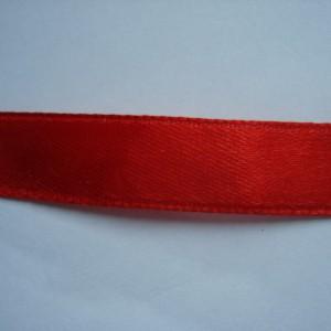 Красная атласная лента 12мм