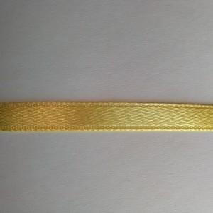 Желтая атласная лента 6мм