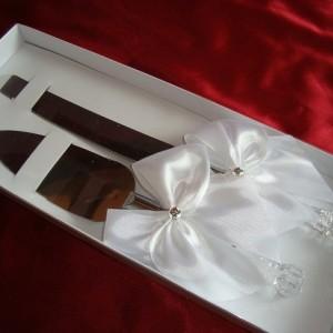 Набор для свадебного торта белый 1