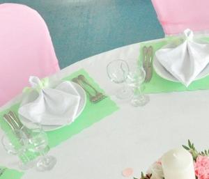 мятно-розовая свадьба