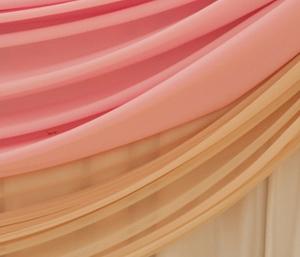 розовый и айвори