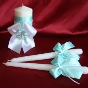 Свадебные свечи цв. Тиффани 71