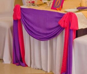 фиолетовый и фуксия