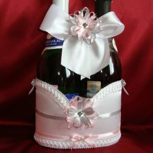 На шампанское розовый серый 37