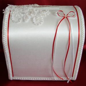 Красный сундучок на свадьбу 83