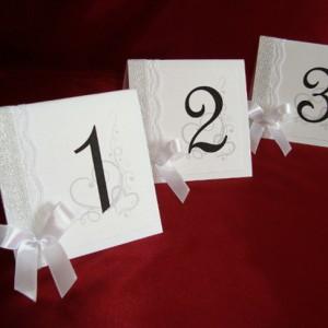 Номер стола серебро2 2