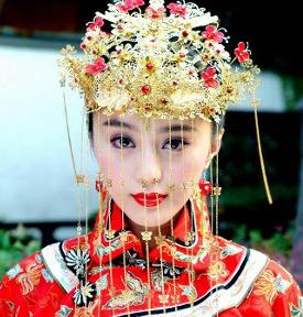 Головной удоб невесты в Древем Китае