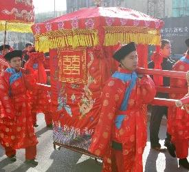 паланкин невесты в Древем Китае