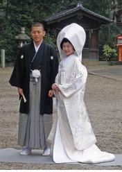жених и невеста в Японии
