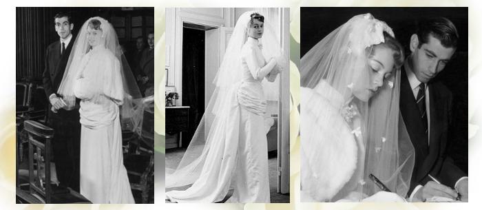 свадебное платье бриджит бардо