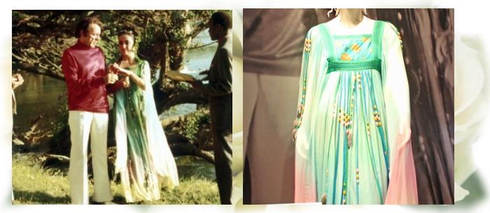 свадебное платье Тейлор со второй свадьбы с Ричардом