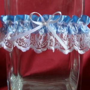 Голубая подвязка невесты 66