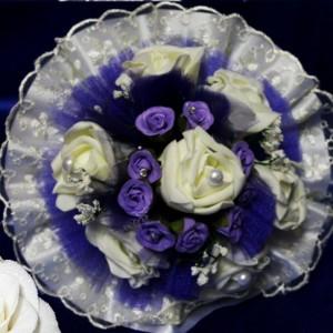 Фиолетовый букет дублер 29
