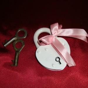 замочек розовый на свадьбу8