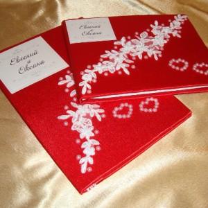 комплект красный на свадьбу 11