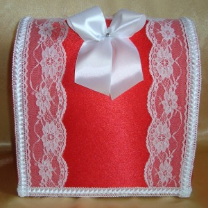 Красный сундучок на свадьбу 29