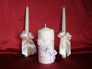 Свечи Семейный очаг с именами
