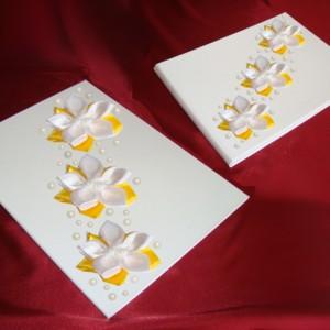 комплект папка и книга желтые 15