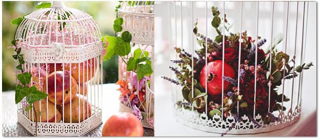 клетки с фруктами