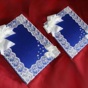 Папка и анига пожеланий комплект синий 20