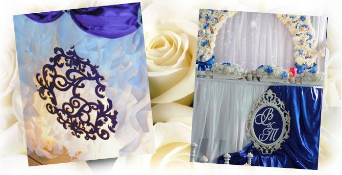 Гербы свадебные для декора