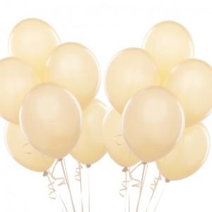 Воздушные шарики айвори