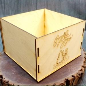 новогодняя коробка без крышки 7