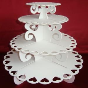 подставка 4-х ярусная для пирожных 6