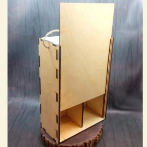коробка на 2 бутылки 4