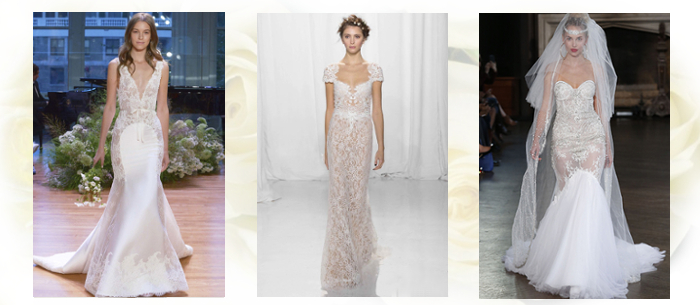 прозрачные свадебные платья 2017-2018