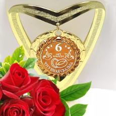 6 годовщина свадьбы подарки