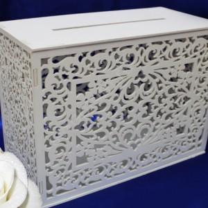 Сундучок деревянный для денег на свадьбу 110