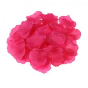 Леестки роз фуксия