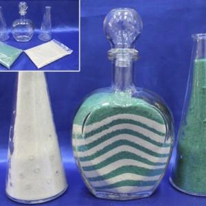 Набор для песочной церемонии зелёный